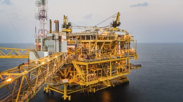 Offshore oilrig
