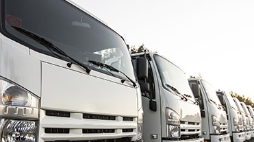 Fleet of HGVs